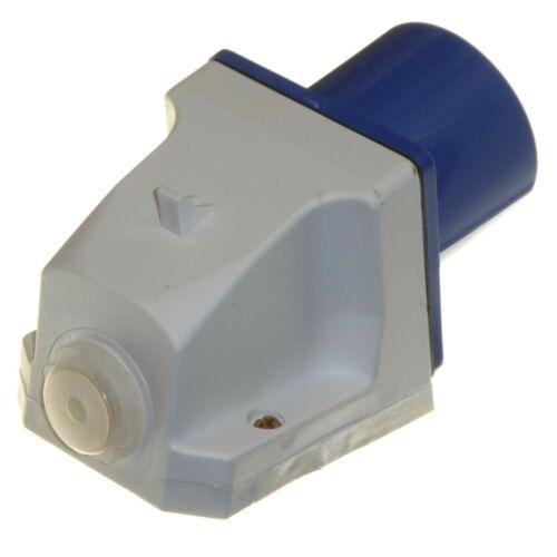 32A 3 Pin Enchufe Acoplador de zócalo IP44 2P+E 32 Amp 230v 240v Soldador Taller Garaje