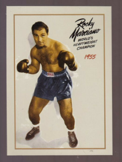 Rocky Marciano undefeated World Heavyweight Boxing Champion only 500 exist 🔥