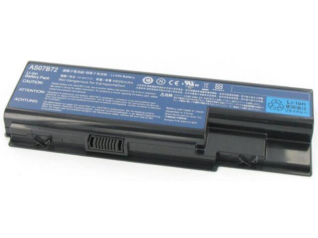 Batería Original Acer As07b32 14.8v 4800mah Auténtico Nueva en Francia