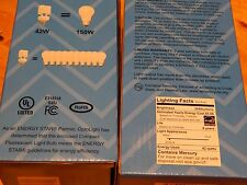 VERY BRIGHT 42 watt CFL= 150watt JUMBO Fluorescent Bulb Basement, Garage PLANTS