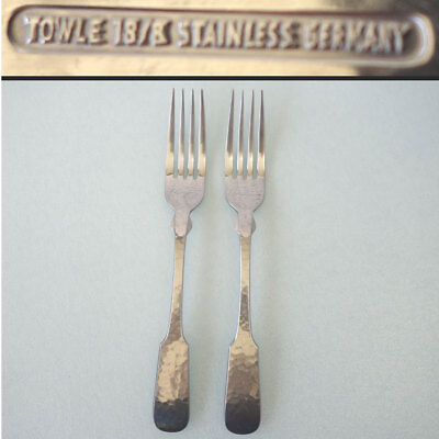 4 Towle Hammersmith 18//8 Stainless Steel Dinner Knives Hammered