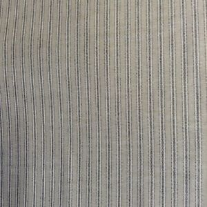 Yale-Ticking-Stripe-Charcoal-Grey-amp-Linen-280cm-108-034-Wide-Curtain-Fabric