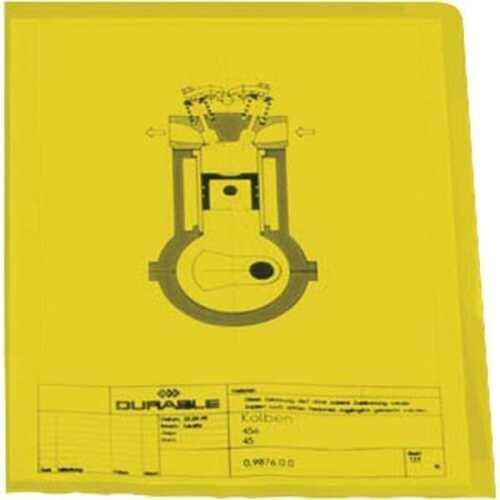 100x DURABLE A4 Sichthüllen Aktenhüllen 120my verschiedene Farben 2337 0,12mm