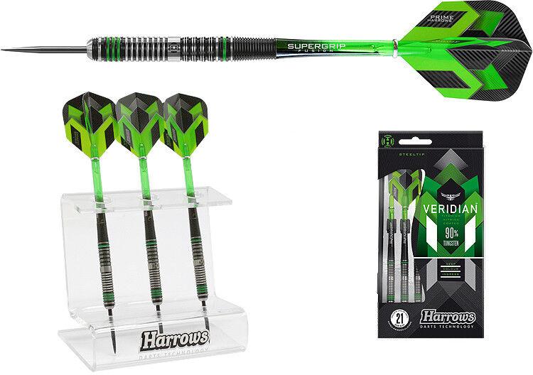 Darts HARROWS HARROWS HARROWS Veridian Steeldarts + Dartständer - Dart Set 4c80a3