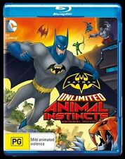 Batman Unlimited: Animal Instincts (Original Move) Blu-ray Discs NEW