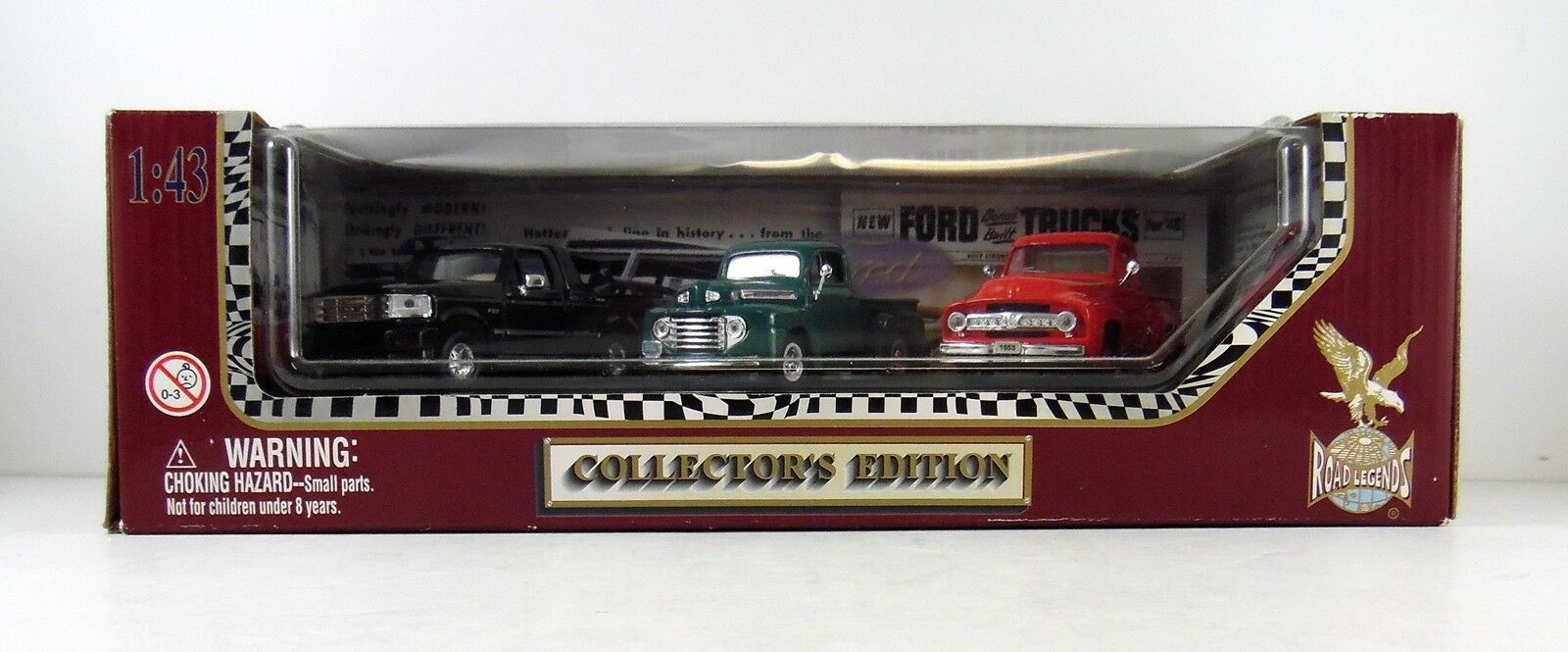 Road Legends Collectors Collectors Collectors Edition (3) 1 43 Escala Modelo Pastillas 321475