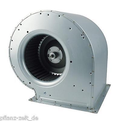 Schneckenhausventilator 2500m³/h 490W Lüfter Abluft AKF Grow z.B. Lüfterkiste