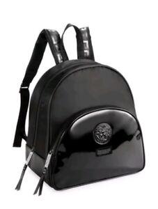 New 100 Genuine Women S Versace Black Backpack Rucksack Bag