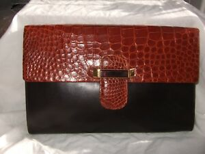Crocodile Large In Leather Germany By Rolk Made Vintage Bag; West And Alfred TtnqpZwnEd