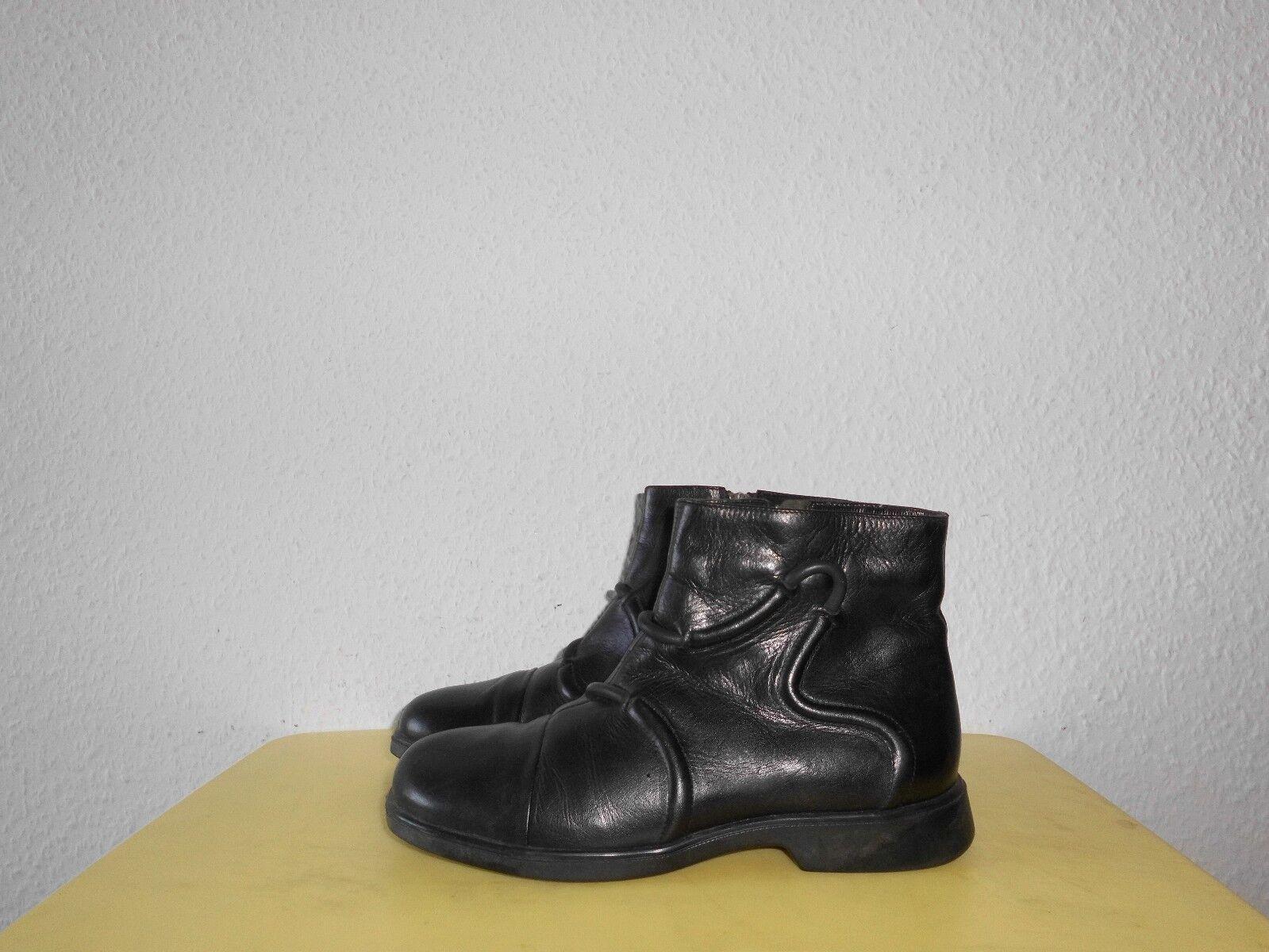 Stiefeletten Boots Think!   Gr.38,5  Leder