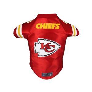 Kansas-City-Chiefs-NFL-LEP-Licensed-Dog-Pet-Premium-Red-Jersey-BIG-Dog-Size