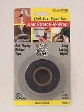 2 X 10 Sealwrap Quik Fix Self Fusing Rubber Repair Tape Just Stretch N Wrap
