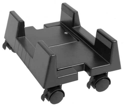 Verstellbar Computer Rollwagen Computerwagen PC Ständer Computerständer Büro