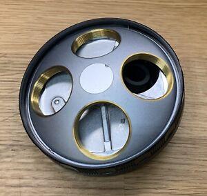 Nikon-BD-Plan-Objective-Microscope-Turret-Nosepiece-M26