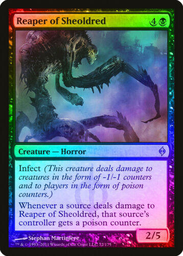 Reaper of Sheoldred FOIL New Phyrexia PLD Black Uncommon MAGIC CARD ABUGames