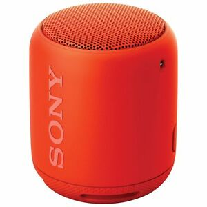 "NEW SONY SRS-XB10 WIRELESS /""BLUETOOTH/"" EXTRA-BASS PORTABLE SPEAKER RED-ORANGE"