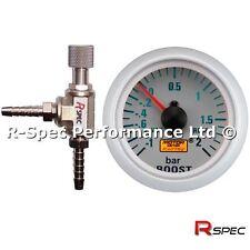 R-Spec Turbo Boost Controller MBC & 52mm BAR Boost Gauge Kit - Any Turbo Car