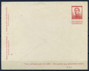 Belgio-1913-Mi-U-13-a-Intero-postale-100-Albert-I-nuovo-10-C