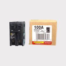 New Square D Homeline Hom2100 100 Amp 2 Pole 120240v Circuit Breaker 6721286