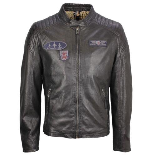 NSLV Pilot Jacket Leather Gipsy Black Channing wqPXE064