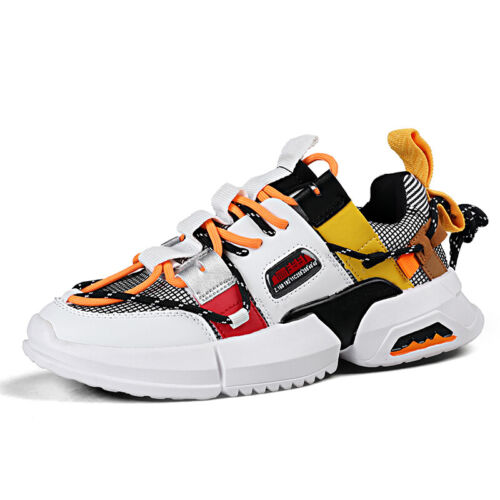 Mens Breathable Sneakers Lightweight Athletic Sports Running Tennis Shoes Gym US