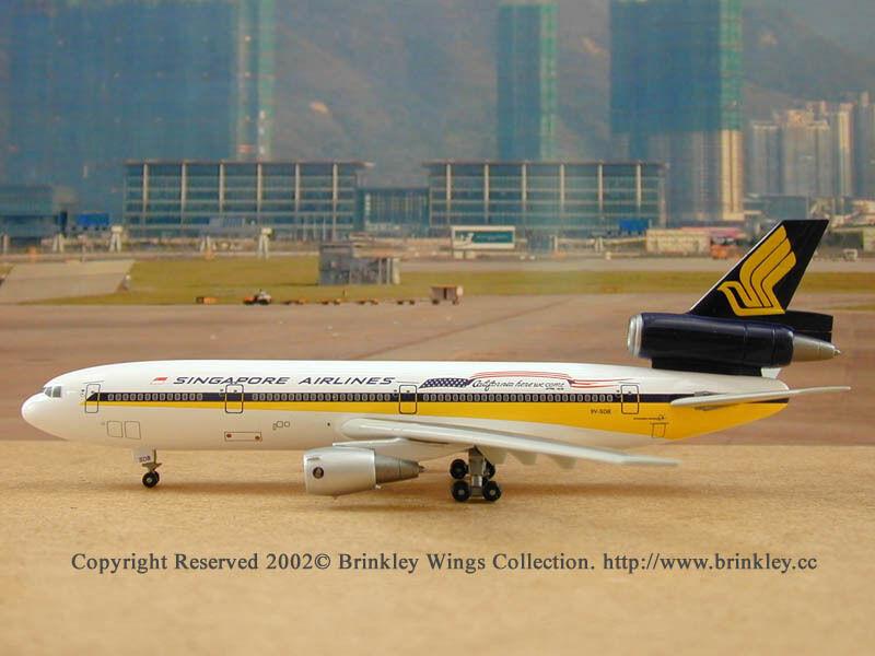 Singapore Airlines DC-10-30 (9V-SDB)  California Here we Come ,  1 400