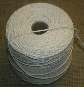 Baumwolle-Strick-500g-Bindfaden-Gartenstrick-350m-Wurststrick-Makramee-Garn-neu