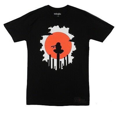 Naruto Shippuden Red Sun Anime Licensed Adult T Shirt