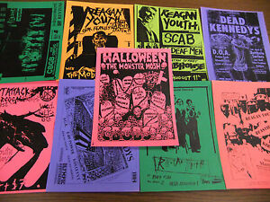 Reagan-Youth-Repo-Concert-Flyer-Lot-Dead-Kennedys-D-O-A-Heart-Attack-B-G-K