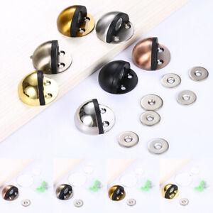 Door Stopper Stainless Steel Magnetic, Half Round Door Stopper