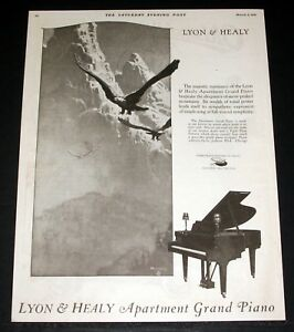 Image Is Loading 1921 Old Magazine Print Ad Lyon Amp Healy
