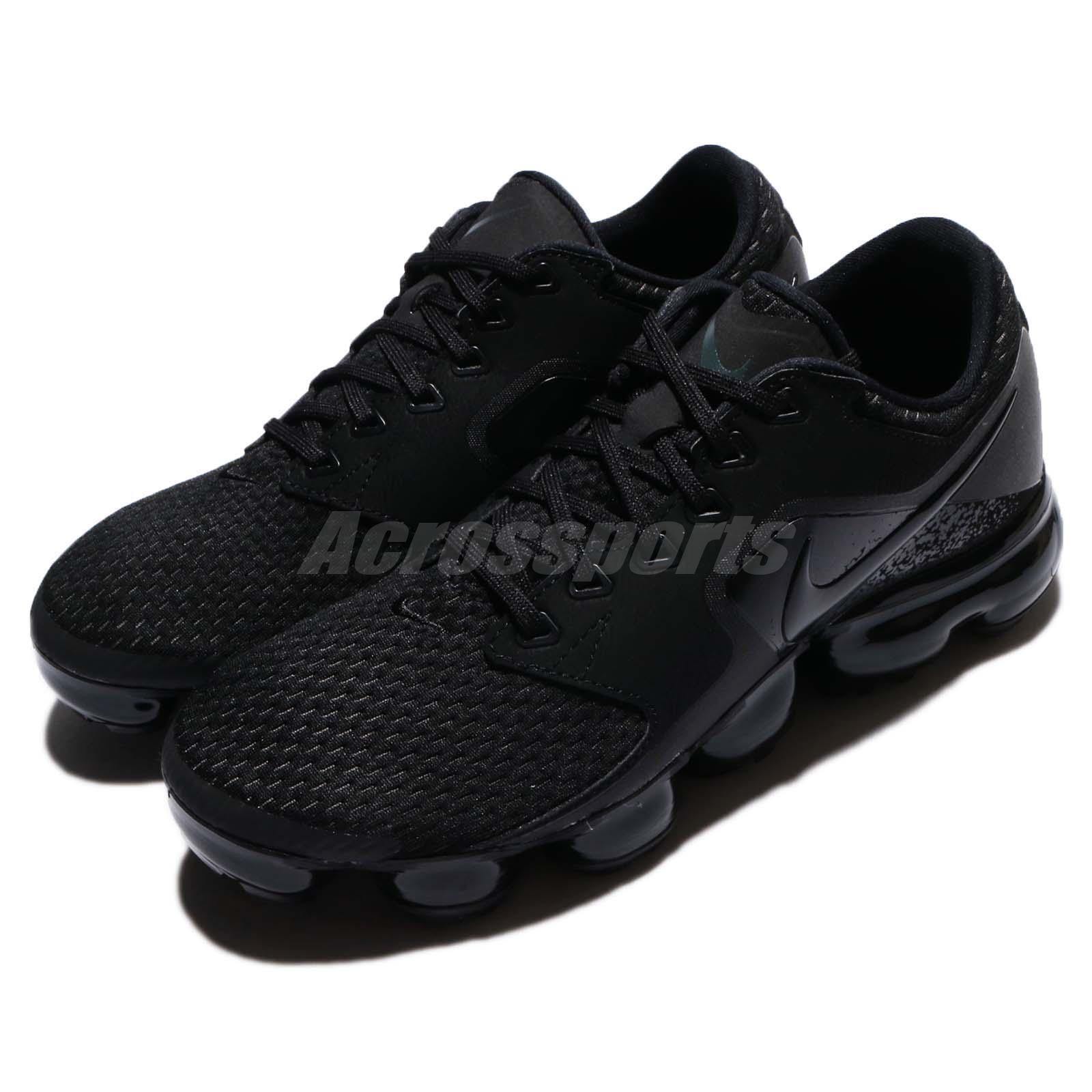 online store 53175 44472 ... WMNS Nike Air vapormax Malla Triple Triple Triple Negro Mujer running  Shoes Sneakers ah9045-002