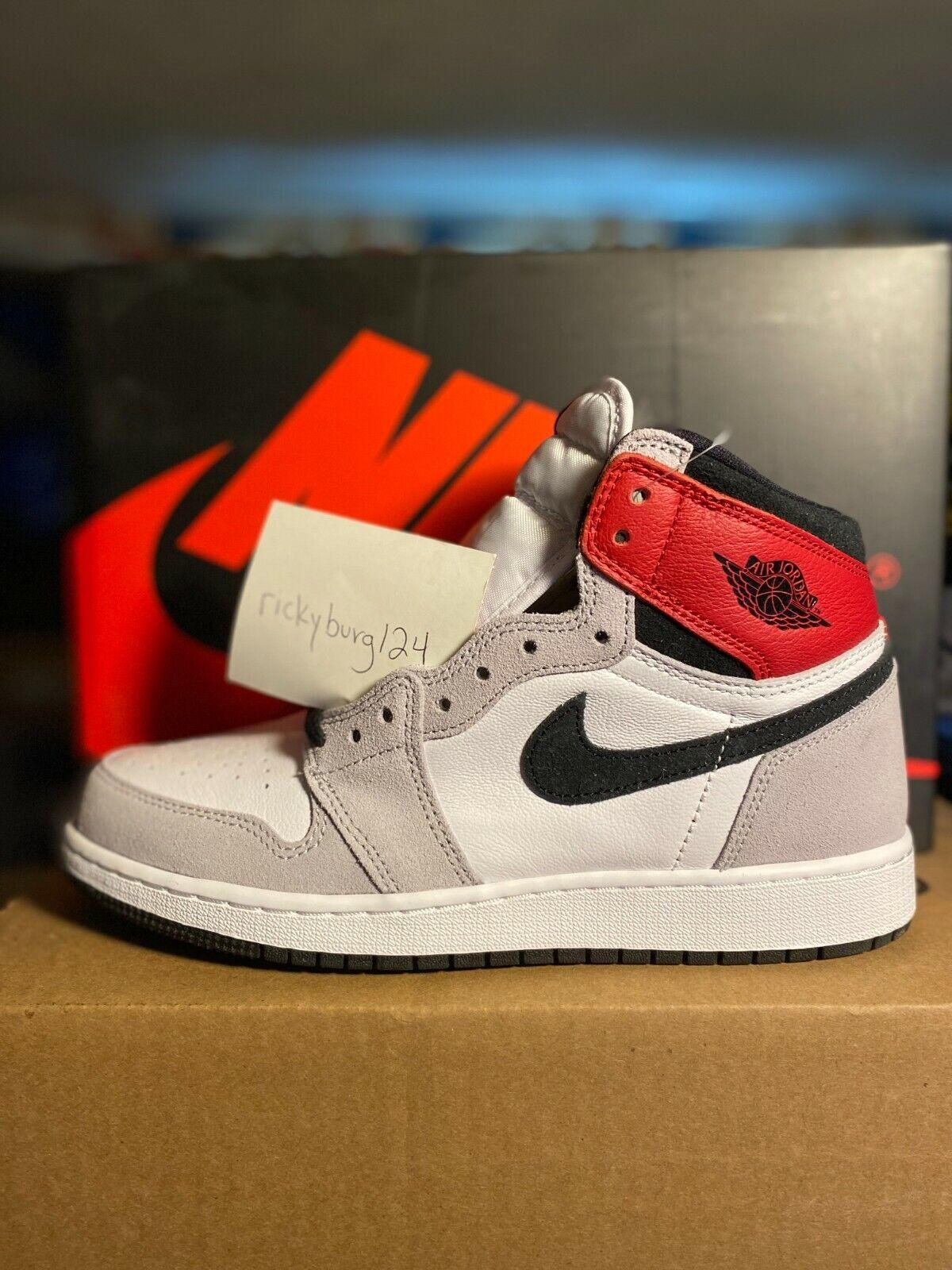 Jordan 1 Retro High Light Smoke Grey (GS) 575441-126 Size 5.5Y 6Y