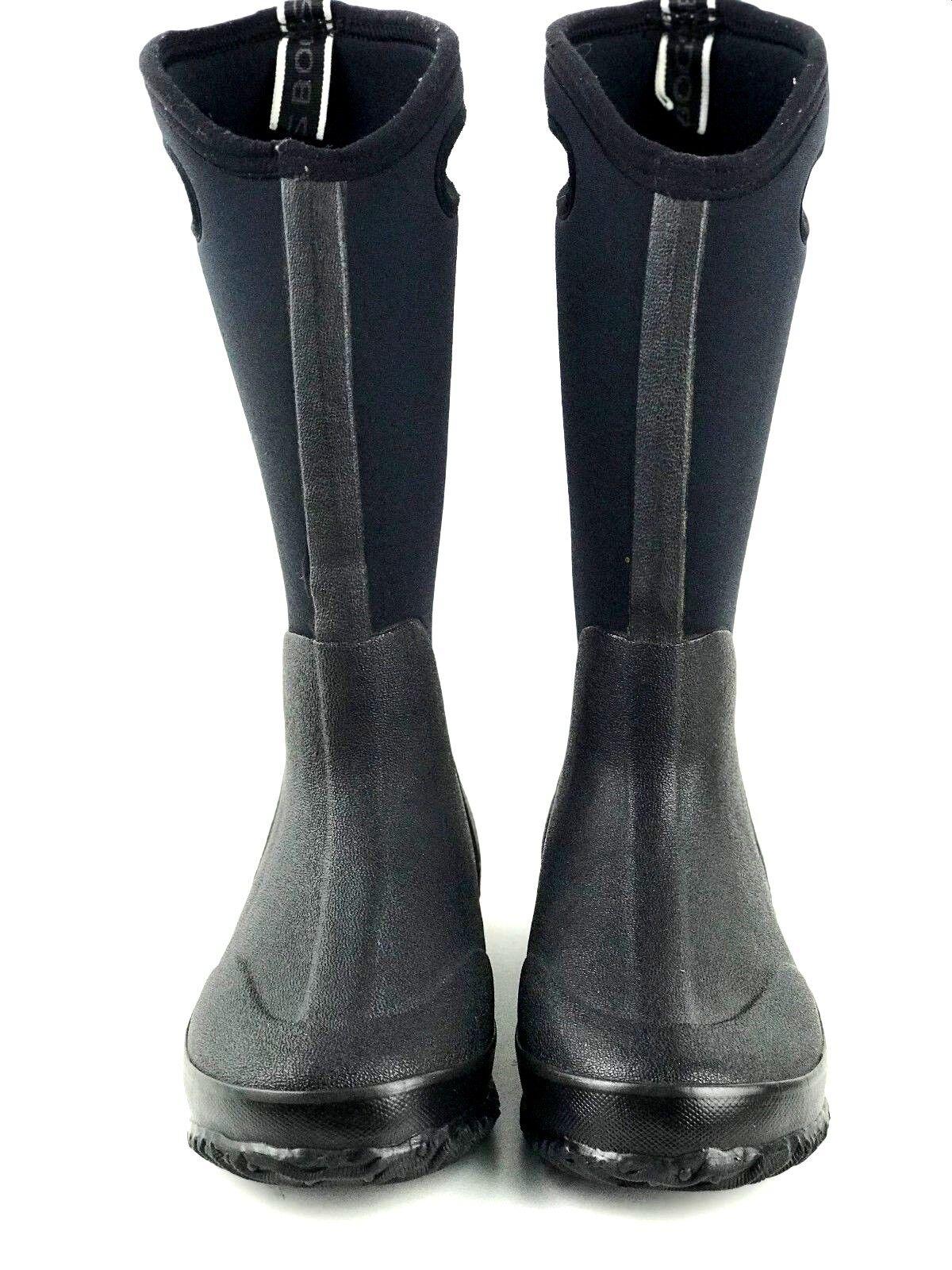 Bogs Clásico Alta maneja 60153 Mujer Negro botas botas botas Talla. US 7 UK 5 EU 37.5  ordenar ahora