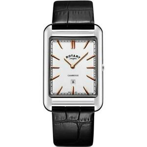 Rotary-GS05280-02-Gent-039-s-Cambridge-Stainless-Steel-W-R-50m-Watch-RRP-155-00
