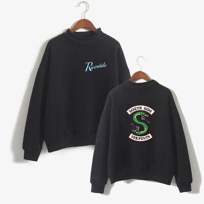 Southside Serpents Riverdale Sweater Sweatshirts Tops Pullover Pulli Kostüm De1