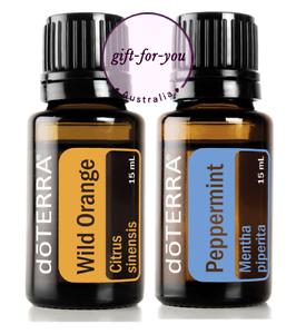 doTERRA-Wild-Orange-Peppermint-15ml-Therapeutic-Grade-Essential-Oil-Aromatherapy