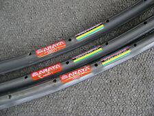 Araya Super Aero Rim 700c Road 20H Polished NEW Wheelsmith Accelerator