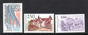 Style De Mode France Neuf Sans Charnière 1991 Sg3024-3026 Propagande Touristique
