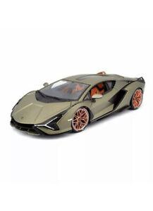 Lamborghini-Sian-FKP-37-1-18-Escala-Maisto-Edicion-Especial-Verde