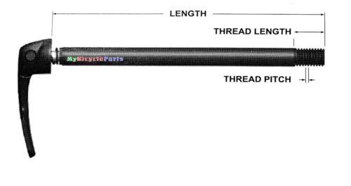TP:M12x1.5 RockShox Maxle Stealth MTB Rear Axle 12x142mm L:170.5mm//TL:14mm