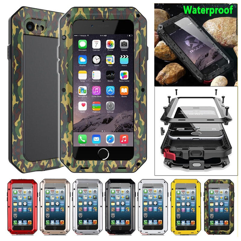 pretty nice 614cc 4c20b Heavy Duty Protection Doom Armor Metal Aluminum Phone Case for iPhone X XS  XR XS