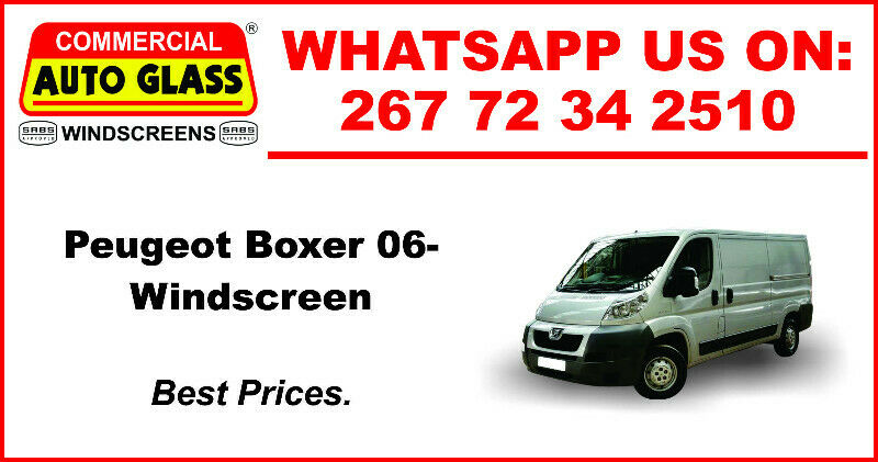 Windscreen For Peugeot Boxer 2006 For Sale.