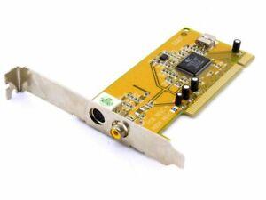 Leadtek WinFast VC100 XP 6607 PCI S-Video Capture Board Conexant Multimedia Card