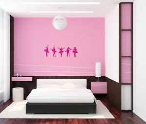 Exceptional Image Is Loading Ballerina Wall Art Sticker Teen Girl 039 S