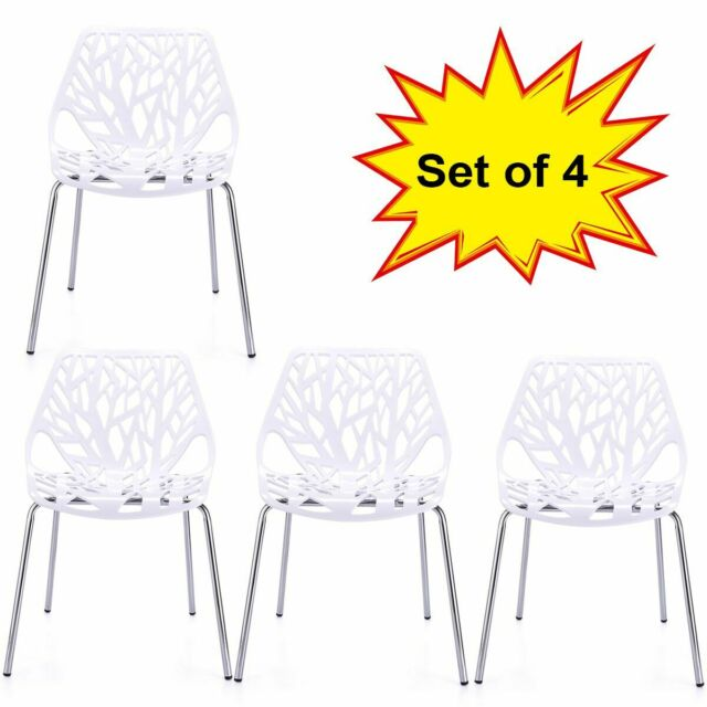 Magnificent Modern Dining Chairs Set Of 4 White Chairs Kid Friendly Birch Chairs Gmtry Best Dining Table And Chair Ideas Images Gmtryco