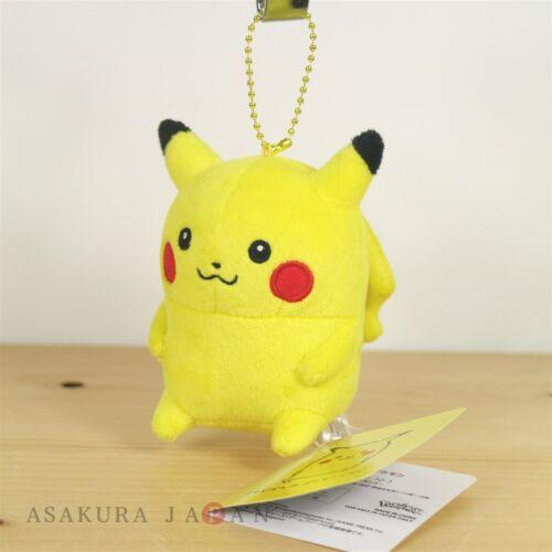 Pokemon Center Original 24 Hours Pokemon CHU Plush Mascot Key Chain Pikachu