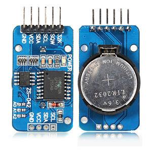 RealTime-Clock-RTC-DS3231-AT24C32-Echtzeit-Uhrenmodul-fuer-Arduino-mit-Batterie