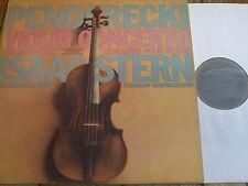 CBS 76739 Penderecki Violin Concerto / Stern