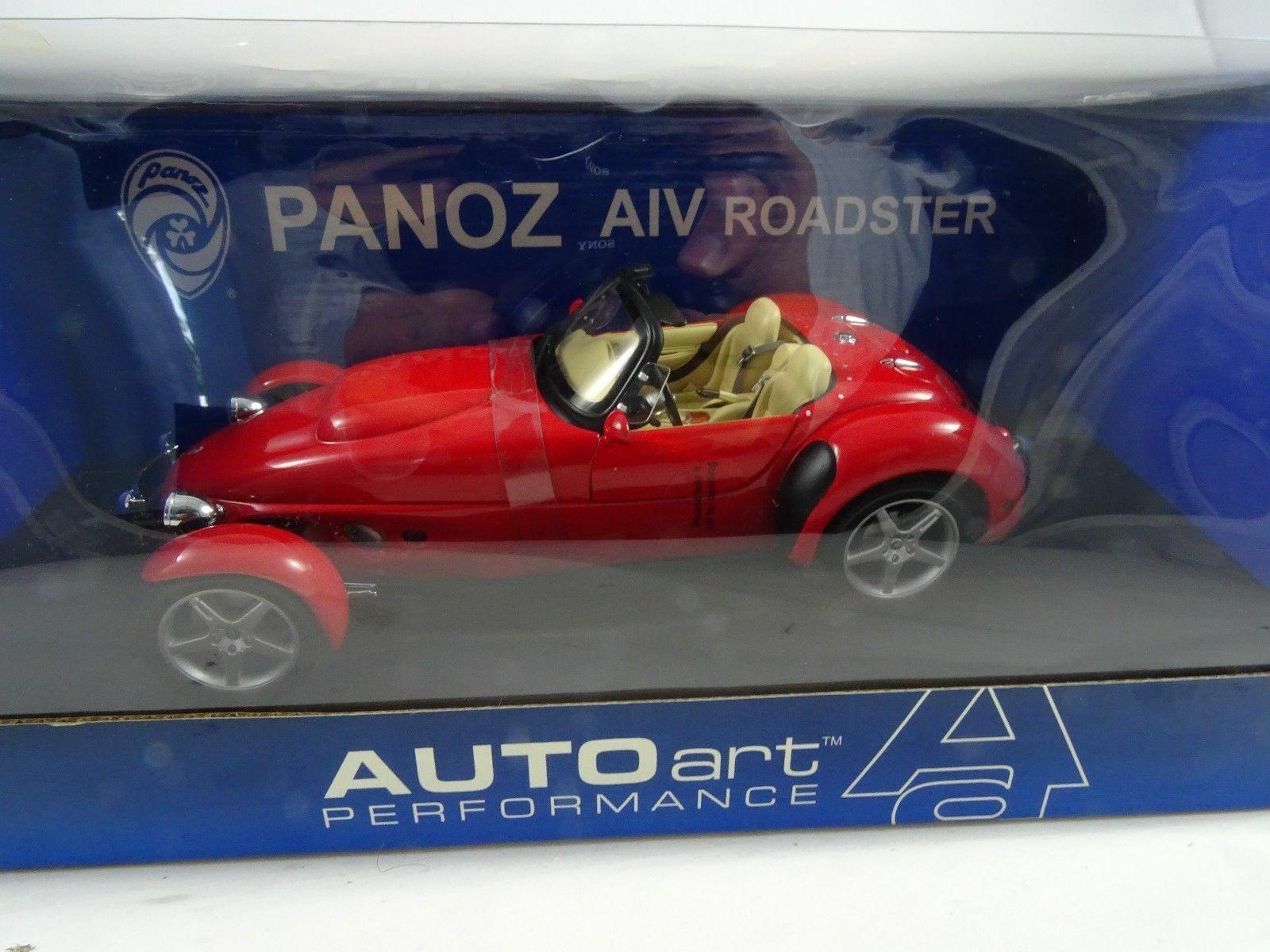 Envio gratis en todas las ordenes 1 18 Autoart Autoart Autoart 78211 Panoz Aiv Roadster 1998 rojo - Rareza Nuevo   Ovp  Garantía 100% de ajuste